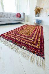 Kézi csomózású perzsa szőnyeg afghan prémium 100x150cm