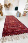 Kézi csomózású perzsa szőnyeg mauri afghan prémium 191x82cm
