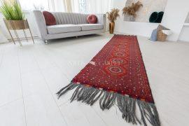 Kézi csomózású perzsa szőnyeg afghan prémium 280x79cm