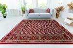 Bohara Luxury Red (bordó)  Klasszikus szőnyeg 140x200cm