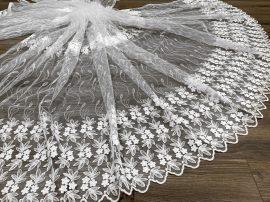 Kész luxury Brillant 77 White függöny 500x250cm