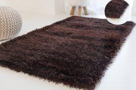 Elephant Luxus Shaggy chocolate (csoki barna) szőnyeg 200x290cm