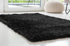 Firenze Lorinda shaggy 5cm black (fekete) 80x250cm