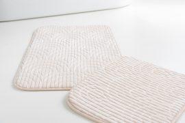 Fürdőszoba szőnyeg cream luxury 2 részes 50x80cm