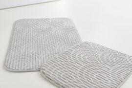 Fürdőszoba szőnyeg silver luxury 2 részes 50x80cm