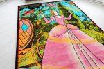 Gyerek szőnyeg Cinderela Pink szőnyeg 200x300cm