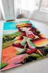 Gyerek szőnyeg red girl 200x300cm