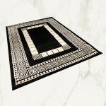 Italy art Luxury 1409 black white 160x230cm