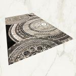 Italy art Luxury 1411 black white 80x150cm