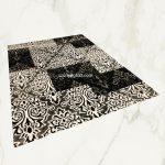 Italy art Luxury 4306 black white 200x290cm