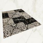 Italy art Luxury 4306 black white 80x150cm