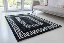 Italy art Luxury 5212 black white (fekete-fehér) szőnyeg 200x290cm