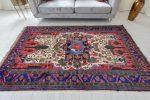 Kézi csomózású perzsa szőnyeg Meshed  237x154cm