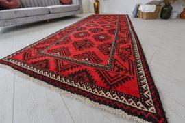 Kézi csomózású perzsa szőnyeg futó 264x127cm