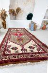 Kézi csomózású perzsa szőnyeg Hamadan 216x110cm