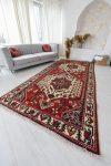 Kézi csomózású perzsa szőnyeg Hamadan 315x106cm