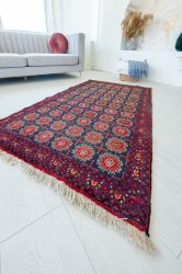 Kézi csomózású perzsa szőnyeg Baluch 177x102cm kézi szőnyeg