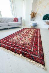 Kézi csomózású perzsa szőnyeg Baluch198x104cm