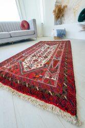 Kézi csomózású perzsa szőnyeg Baluch 188x103cm