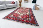 Kézi csomózású perzsa szőnyeg Meshed 198x132cm