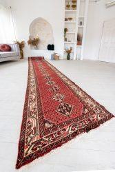 Kézi csomózású perzsa szőnyeg 623x79cm