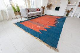 Kézi csomózású perzsa killim szőnyeg 223x352cm