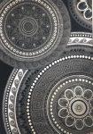 Italy art luxury 1411 black (fekete-szürke) szőnyeg  160x230cm