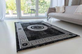 Italy art luxury 8861 black (fekete) szőnyeg  80x150cm
