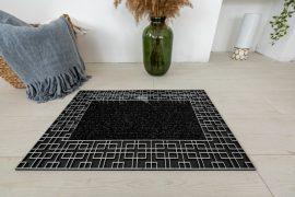 Labirintus keretes Silver Black lábtörlő 45x75cm