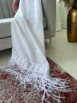 Kész függöny luxury Charlotte white csipke panorámás mintás 400x180cm