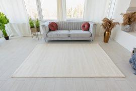 Trend egyszínű szőnyeg (White) 120x170cm Fehér