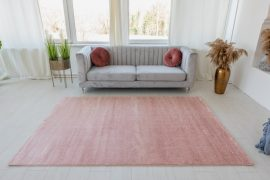 Trend egyszínű szőnyeg (Pink) 80x250cm Púder