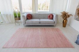 Trend egyszínű szőnyeg (Pink) 200x290cm Púder