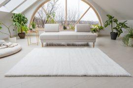 New York Shaggy White szőnyeg 100x150cm