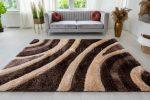 Pure Luxury 3d Damaskus Brown beige szőnyeg 120x170cm