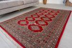 Kézi csomózású perzsa szőnyeg 184x124cm