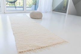 Pamut szőnyeg krém 50x70cm