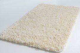 Shaggy soft cream (krém) 50x80cm Szőnyeg és Fürdőszobaszőnyeg