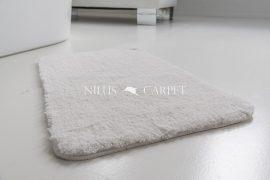 Shaggy fehér vajpuha 50x80xcm szőnyeg és fürdőszoba szőnyeg