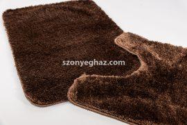 Shaggy csoki vajpuha 2 részes fürdőszoba szőnyeg 50x80cm