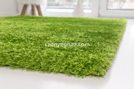 Super  green (zöld shaggy szőnyeg) shaggy szőnyeg  60x110cm