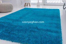 Super  türkiz (türkizkék) shaggy szőnyeg  200x280cm