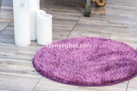 Valentin shaggy lila 100cm kör