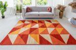 Art Viola modern terra (narancssárga) szőnyeg 160x220cm