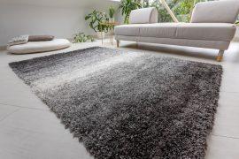 Design Shaggy 064 black (fekete) szőnyeg 80x250cm