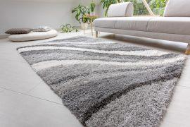 Design Shaggy hullámos gray (szürke) szőnyeg 200x290cm