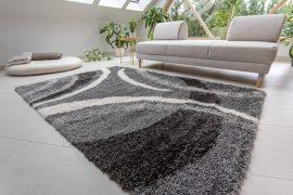Design Shaggy 08 gray (szürke) szőnyeg 160x230cm