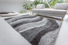 Design Shaggy 09 gray (szürke) szőnyeg 80x250cm