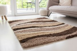 Design Shaggy 09 light beige (bézs) szőnyeg 80x150cm