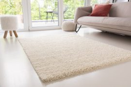 Design Shaggy cream (vanilia) szőnyeg 60x220cm